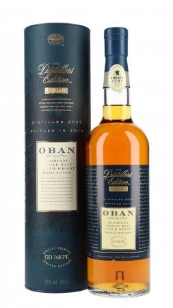 Single Malt Scotch Whisky Oban Distillers Edition (2001)